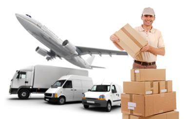 Air Freight, Land Freight And Sea Freight Image